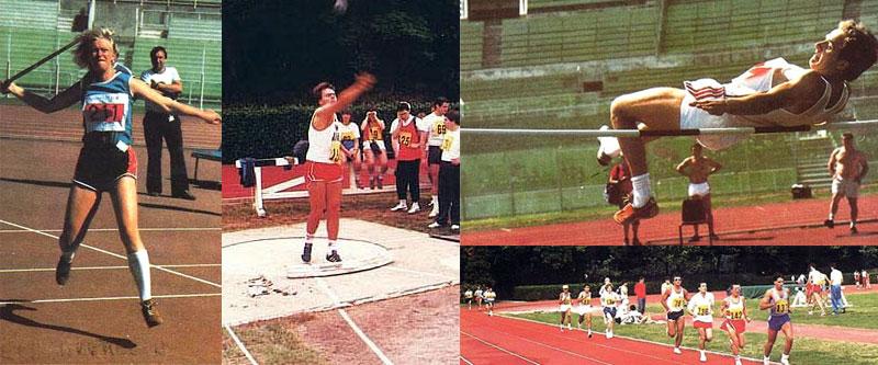 Sport vari di atletica leggera