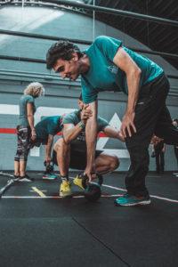 CrossFit sollevamento pesi