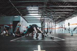 CrossFit attività corpo libero