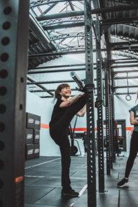 CrossFit esercizio estensione gambe