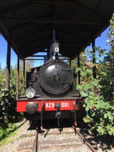 Locomotiva a vapore presso Antica Stamperia Tallone