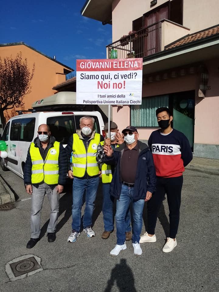 Il gruppo tandem incontra il Giro d'Italia