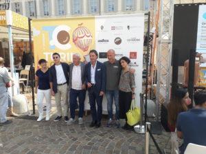 """tavola rotonda """"Il caffè per tutti"""". Tra i partecipanti, Ivano Zardi e Giulio Trombetta"""